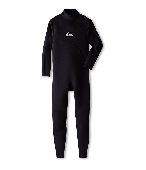 Quiksilver - Enduro 3/2 Backzip GBS Long Sleeve Fullsuit (Black) Men's Wetsuits One Piece