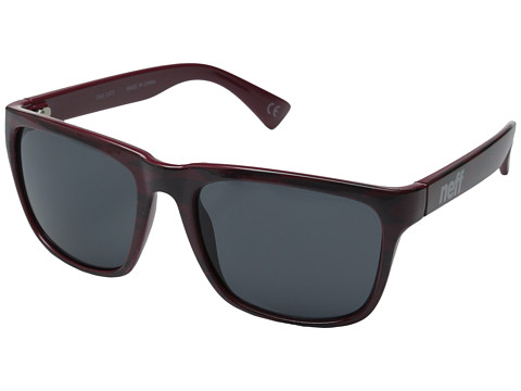 Neff - Chip Sunglasses (Maroon) Fashion Sunglasses