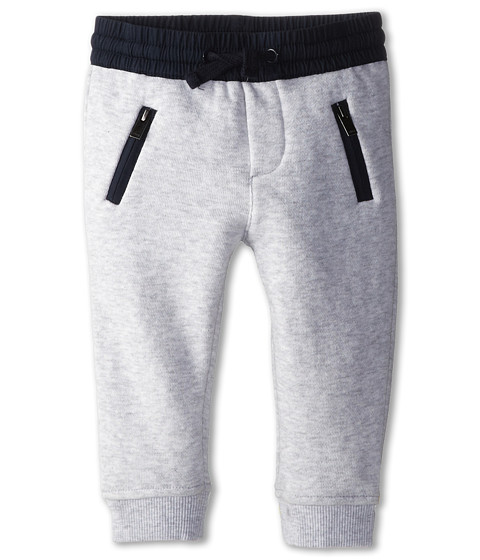 Vince Kids - French Terry Sweatpant (Infant) (Heather Marina Grey) Boy's Casual Pants