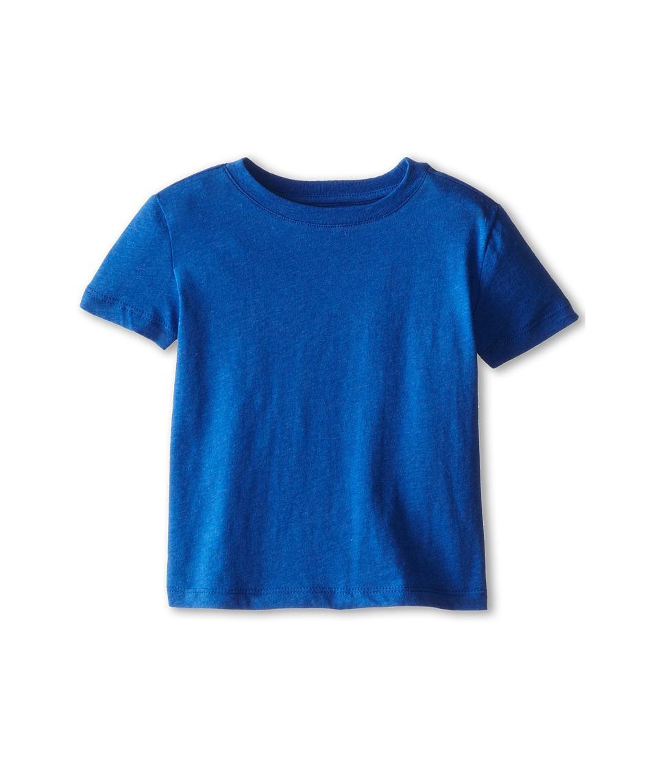 Vince Kids - Favorite Crew Neck Tee (Toddler/Little Kids) (Cobalt) Boy's T Shirt