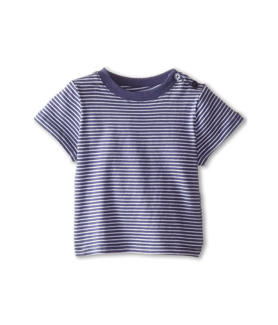 Vince Kids - Favorite Crew Neck Tee (Infant) (Blue Moon Stripe) Boy