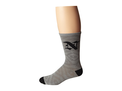 Neff - Lypsus Sock (Grey) Men's Knee High Socks Shoes
