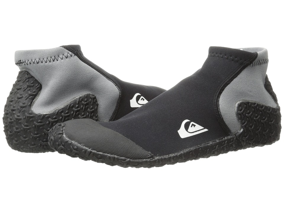 Quiksilver - 1mm Reefwalker Booties (Black) Men