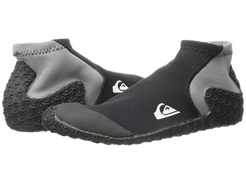 Quiksilver - 1mm Reefwalker Booties (Black) Men's Boots