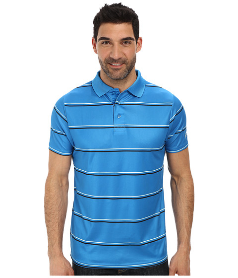 Cinch - Athletic Technical Polo Striped (Blue) Men