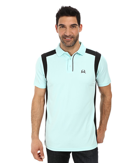 Cinch - Athletic Technical Polo (Aqua) Men