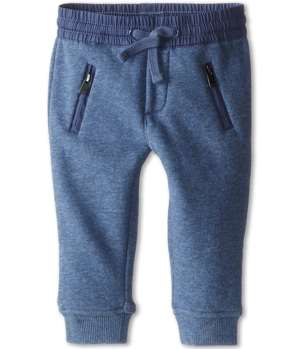 Vince Kids - French Terry Sweatpant (Infant) (Heather Bayou Blue) Boy's Casual Pants
