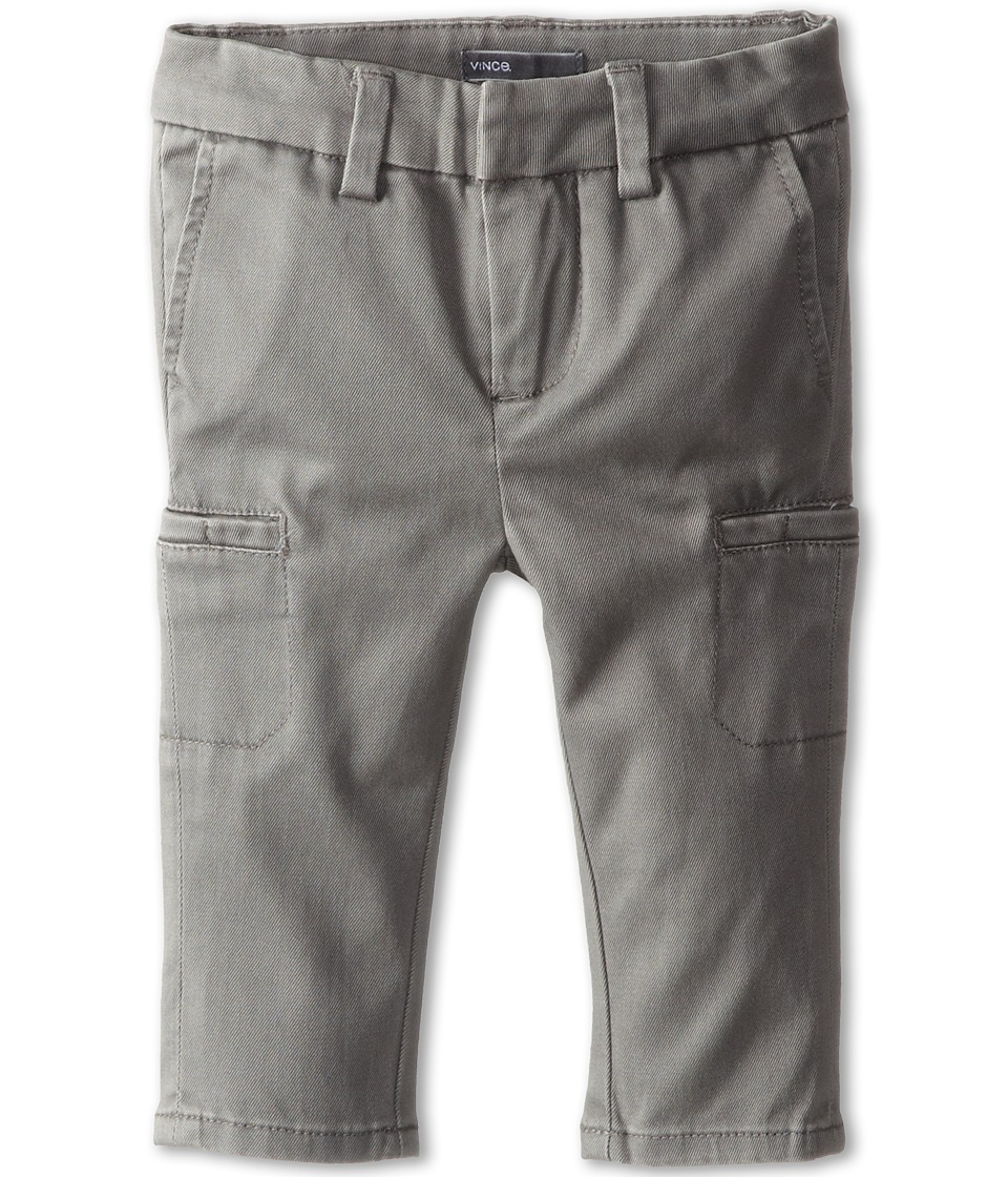 Vince Kids - Cargo Trouser Pant (Infant) (Stormy Grey) Boy's Casual Pants