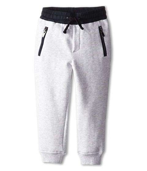 Vince Kids - French Terry Sweatpant (Toddler/Little Kids) (Heather Marina Grey) Boy's Casual Pants