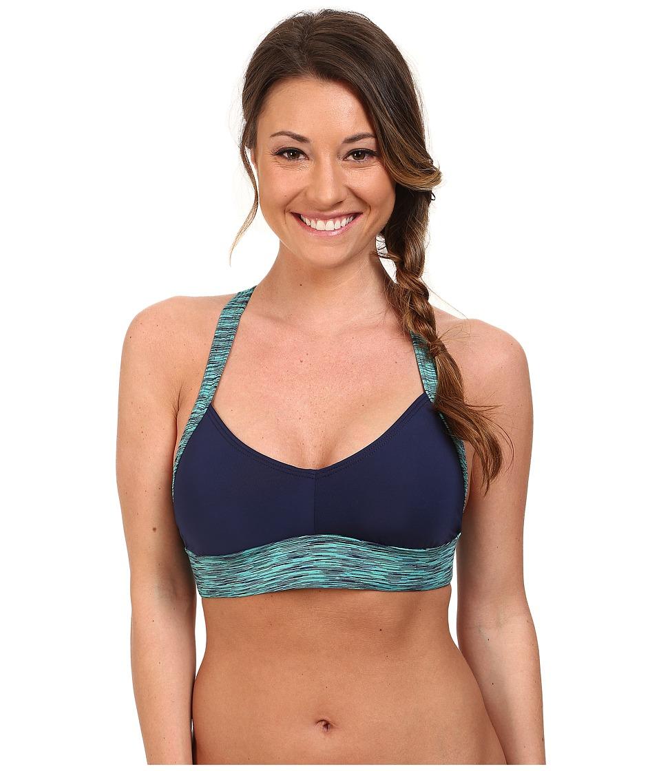 TYR - Sonoma V-Neck Swim Bra (Navy) Women's Swimwear