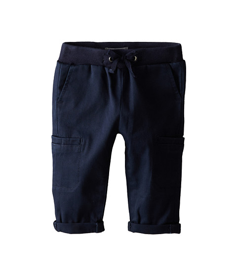 Vince Kids - Pull On Cargo Trouser Pant (Infant) (Coastal Blue) Boy's Casual Pants