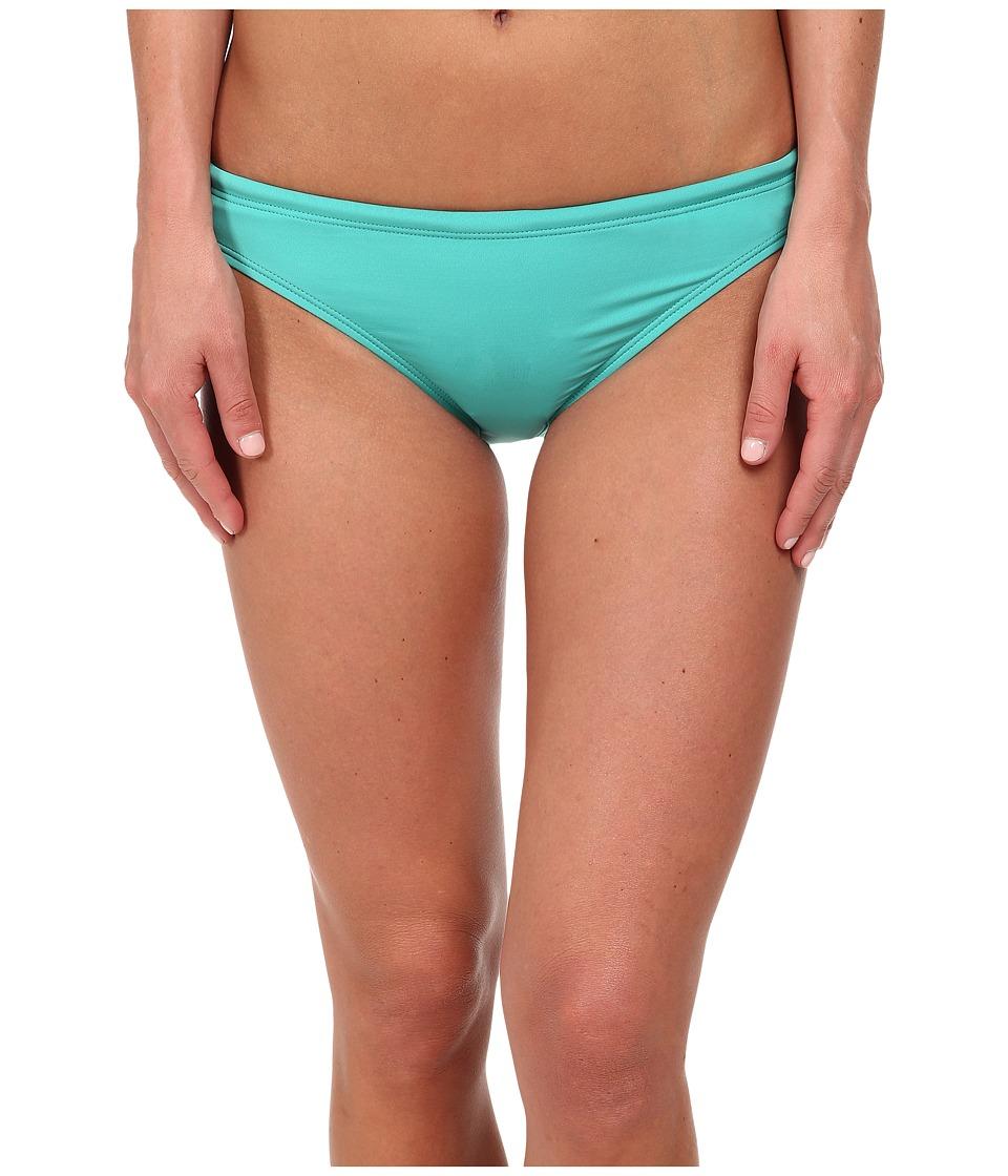 TYR - Solid Brites Bikini Bottom (Turquoise) Women's Swimwear