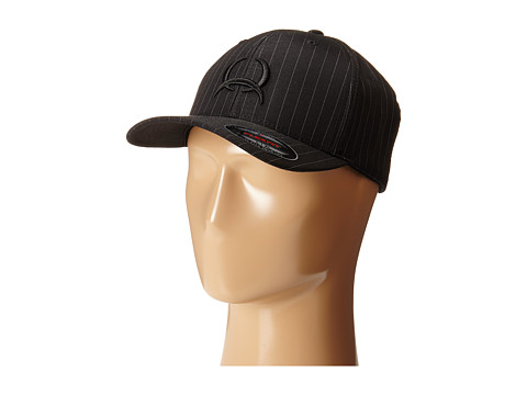 Cinch - Pinstripe Mid-Profile (Black) Caps