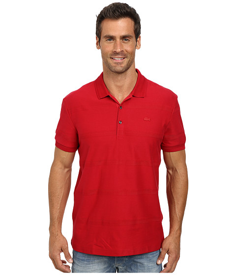 Lacoste - Jersey Polo with Tonal Wide Spaced H