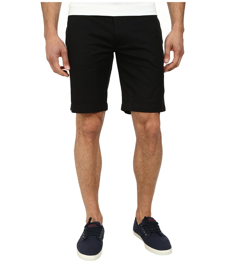 Lacoste - Slim Fit Bermuda Short (Black) Men's Shorts