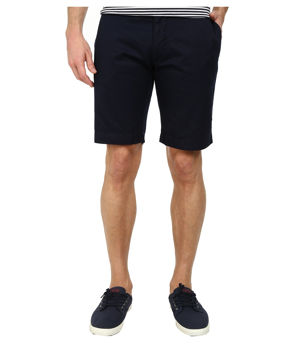 Lacoste - Slim Fit Bermuda Short (Navy Blue) Men's Shorts