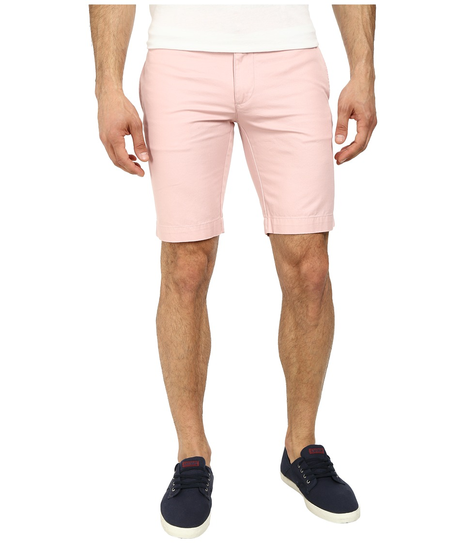 Lacoste - Slim Fit Bermuda Short (Lychee Pink) Men's Shorts
