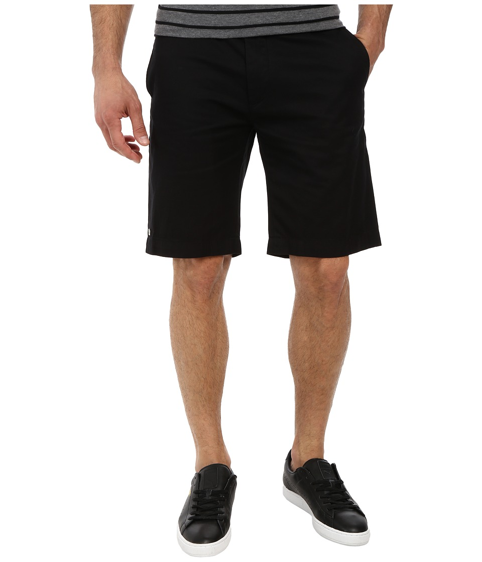 Lacoste - Classic Fit Bermuda Short 10 (Black) Men's Shorts