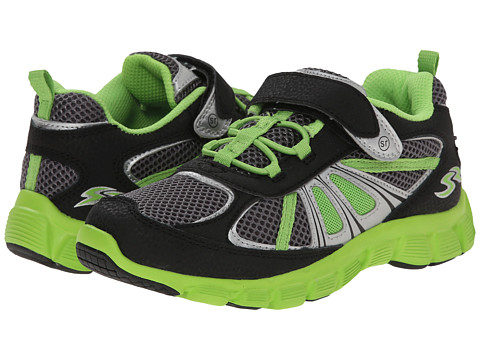 Stride Rite - Propel 2 A/C (Little Kid) (Black/Grey/Green) Boy's Shoes