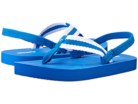 Armani Junior - Royal Blue Flip Flop (Toddler/Little Kid) (Blue) Boys Shoes