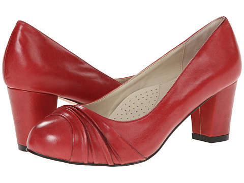 Fitzwell - Candis (Red Burnished Leather) Women