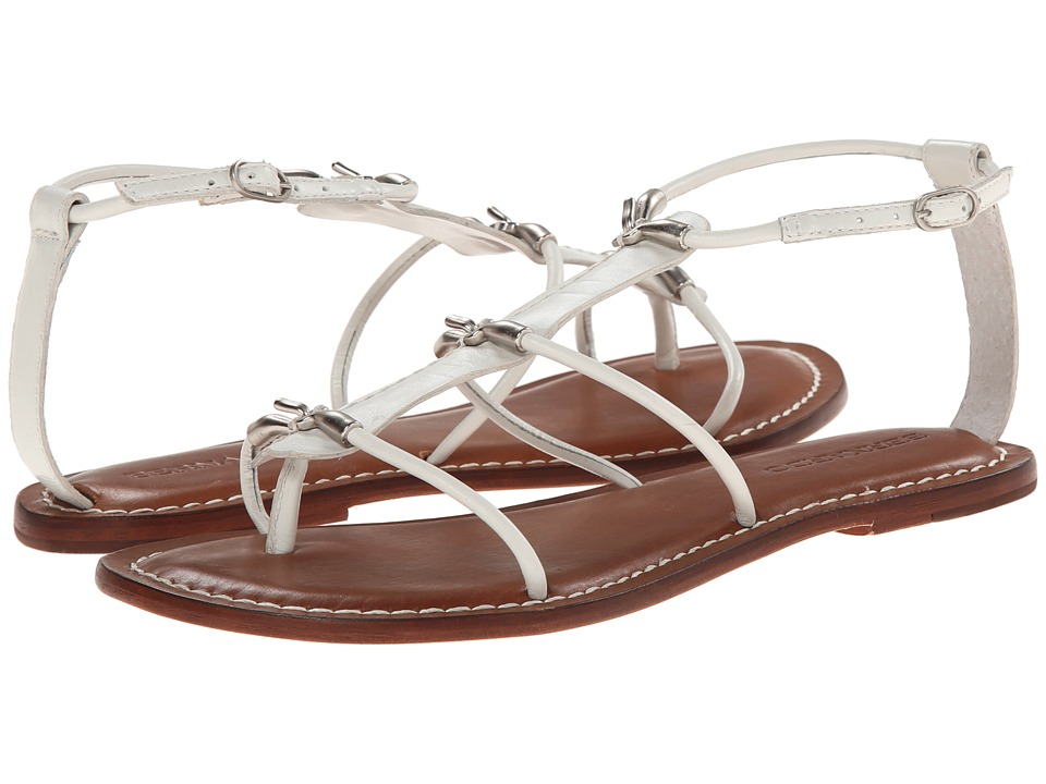 Bernardo - Melanie (White Calf/Silver) Women's Sandals