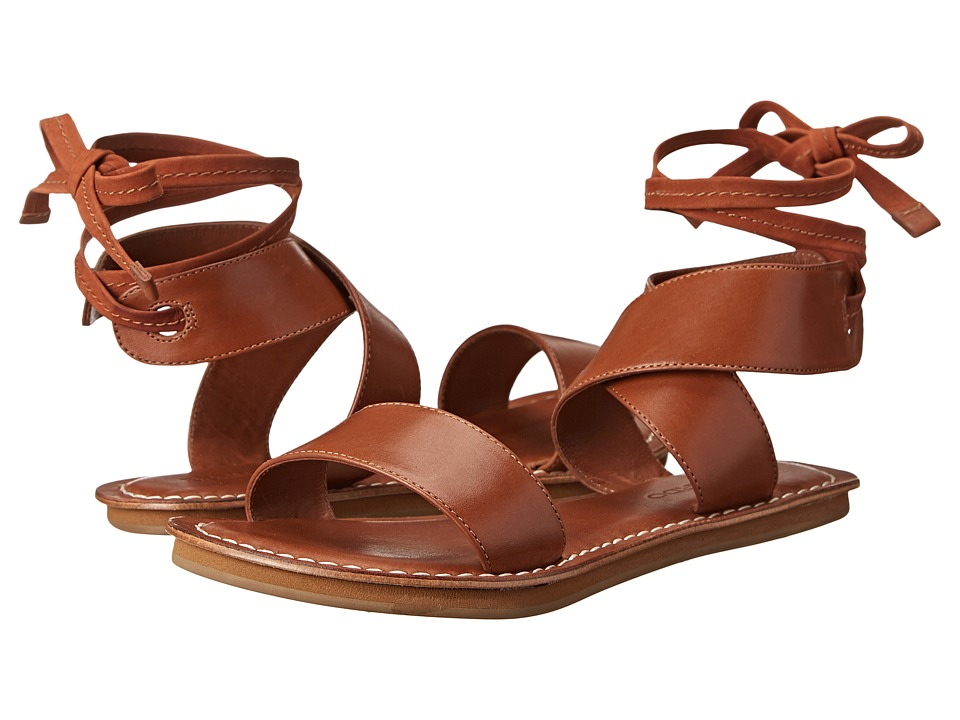Bernardo - Morgan Eva (Luggage Vachetta) Women's Sandals