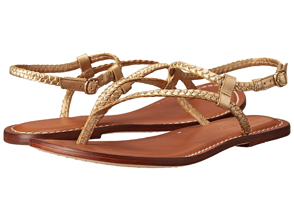 Bernardo - Merit Woven (Old Gold Calf) Women's Sandals