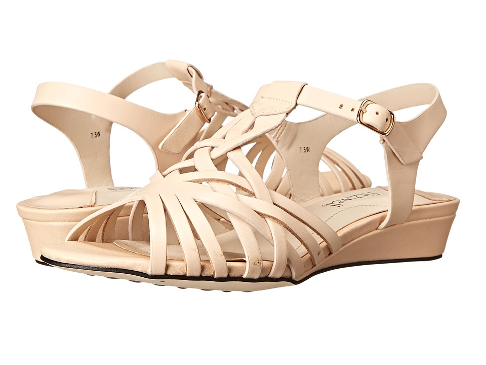 Fitzwell - Presley (Natural Burnished Leather) Women's Sandals