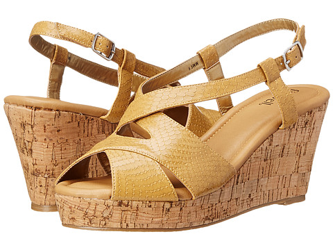 Fitzwell - Caitlyn (Natural Patent Snake) Women's Sandals