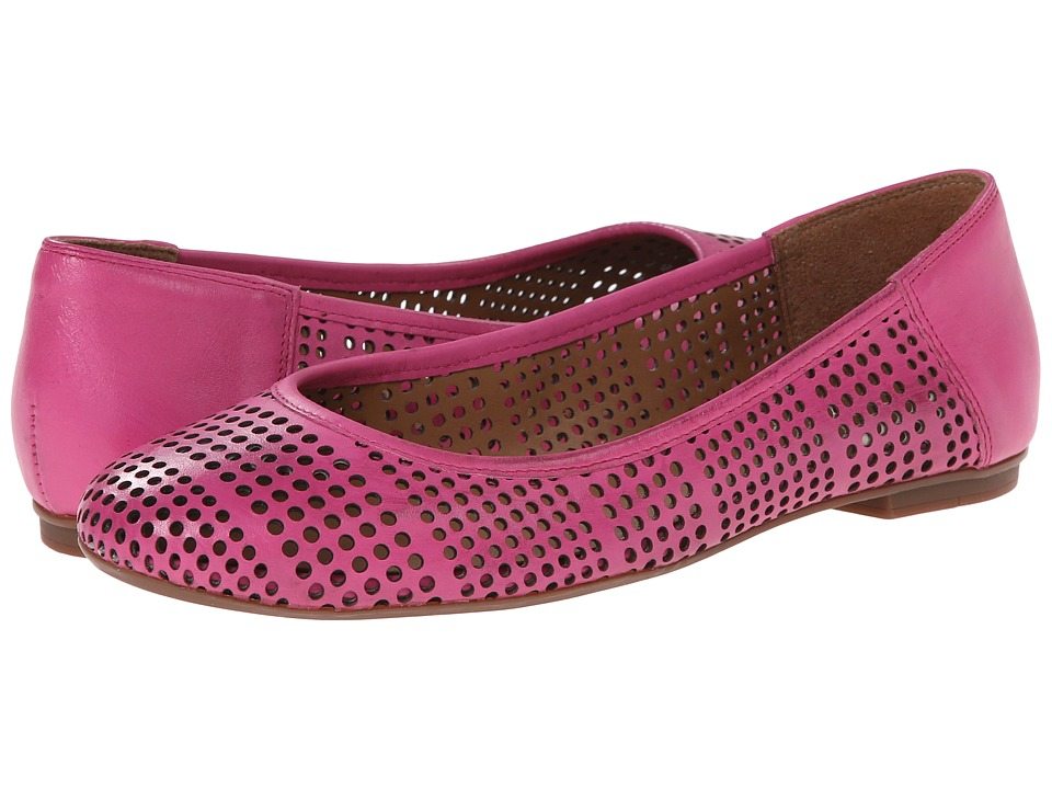 French Sole - Naru (Fuchsia Leather) Women's Flat Shoes