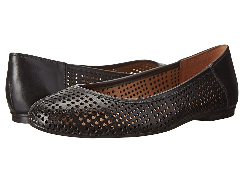 French Sole - Naru (Black Leather) Women
