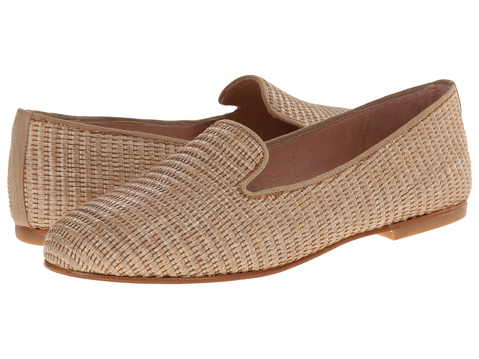 French Sole - Motif (Tan Raffia) Women's Shoes