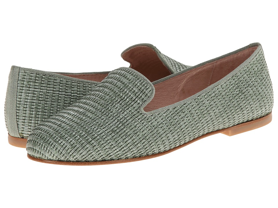 French Sole - Motif (Green Raffia) Women's Shoes