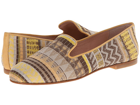 French Sole - Motif (Vanilla Fabric) Women's Shoes