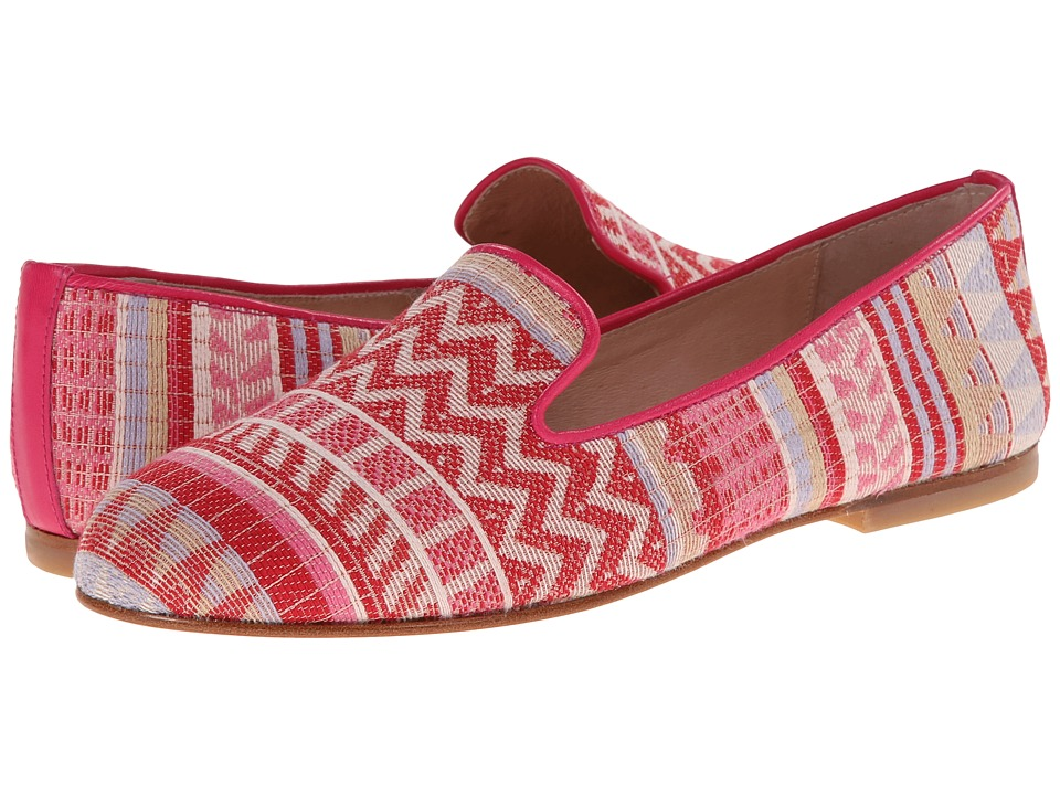 French Sole - Motif (Fuchsia Fabric) Women's Shoes