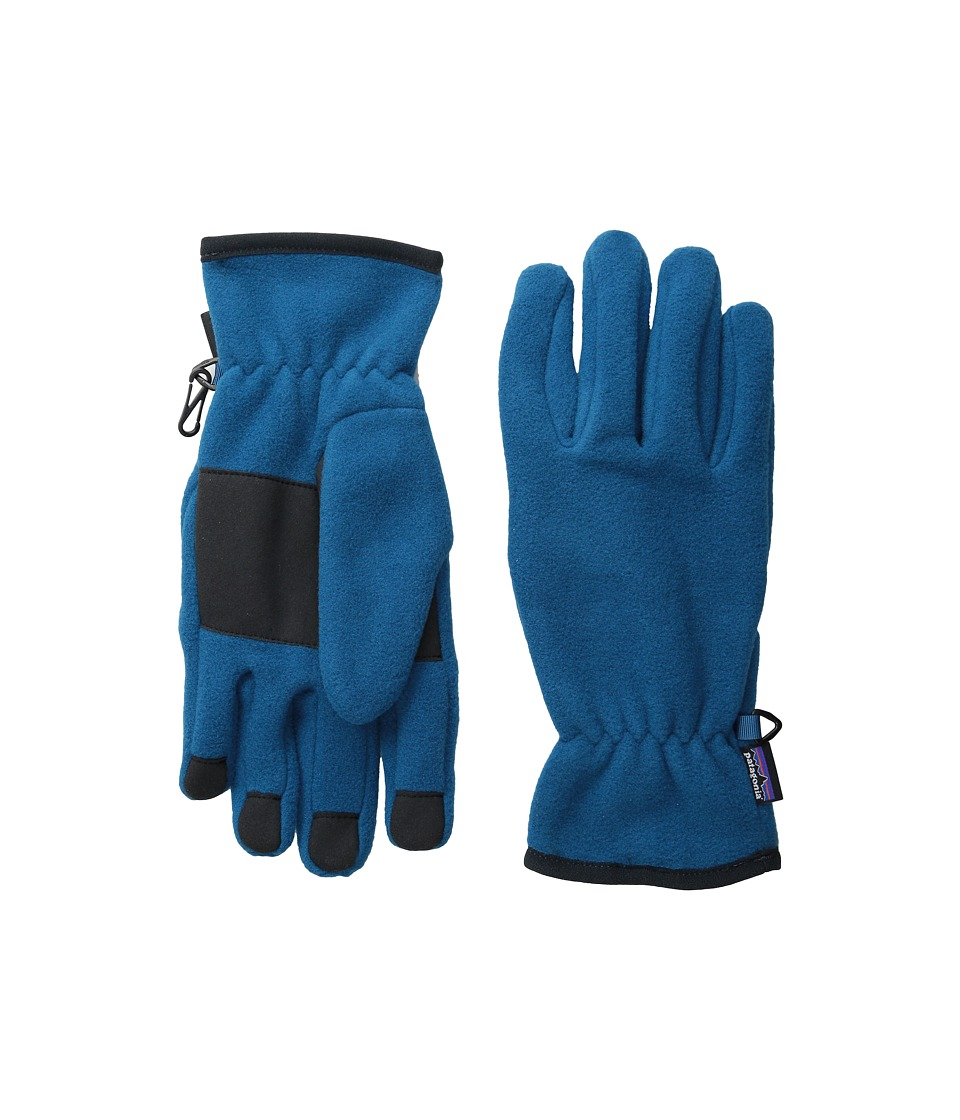 Patagonia - Synch Gloves (Underwater Blue) Extreme Cold Weather Gloves