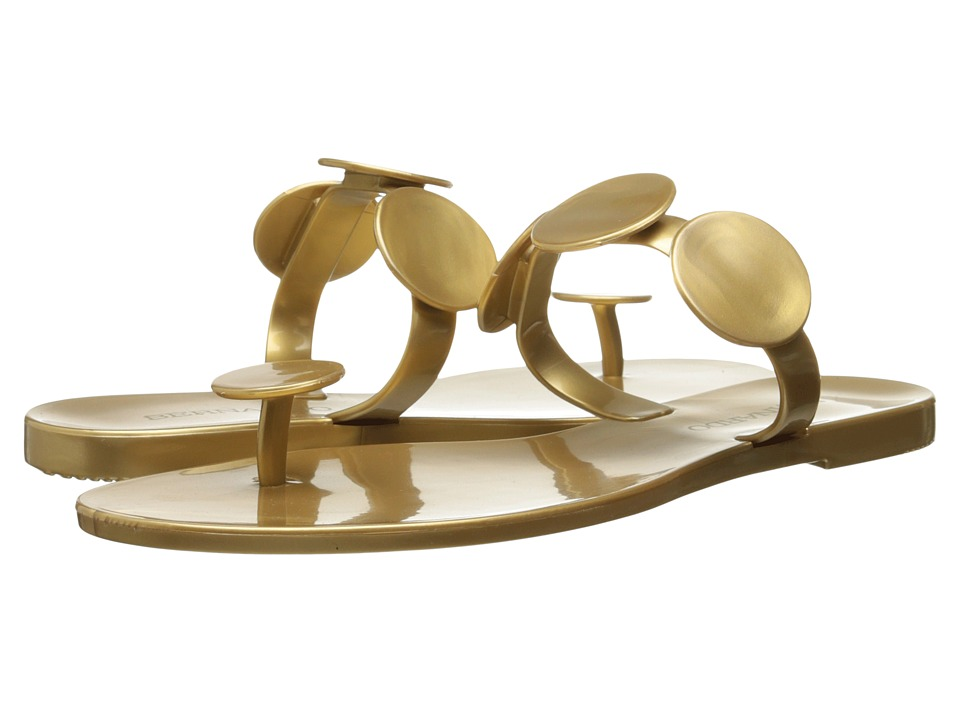 Bernardo - Moon Jelly (Gold Jelly) Women's Sandals