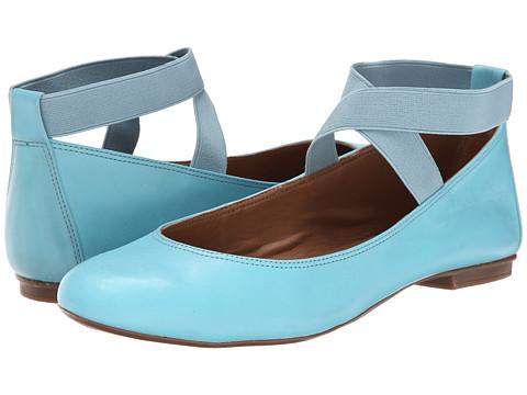 French Sole - Natty (Light Blue Calf) Women
