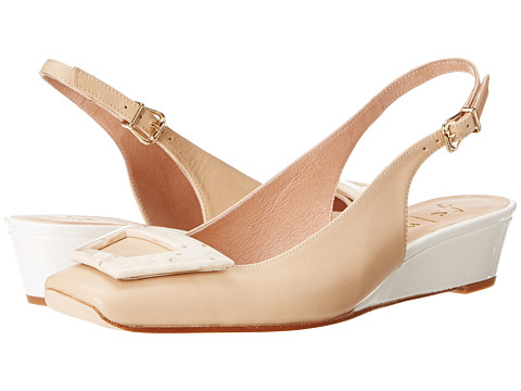 French Sole - Noter (Nude Nappa) Women's Flat Shoes