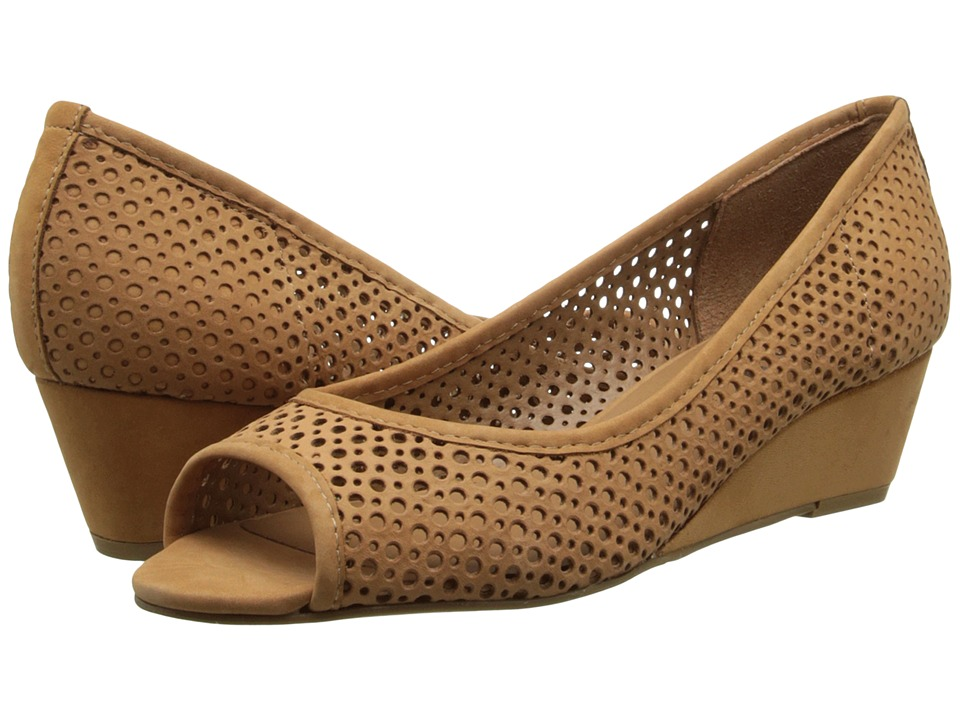 French Sole - Necessary (Tan Nubuck) Women's Flat Shoes