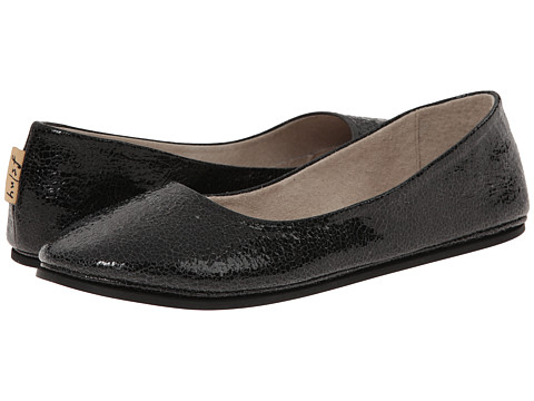 French Sole - Sloop (Black Small Crackle) Women