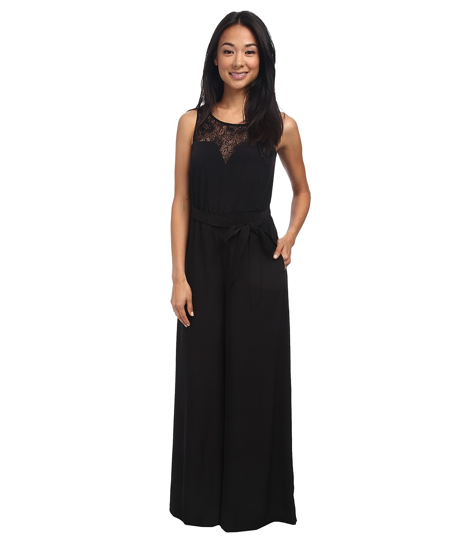 Jessica Simpson - Lace Jumpsuit JS5U6944 (Black) Women's Jumpsuit & Rompers One Piece