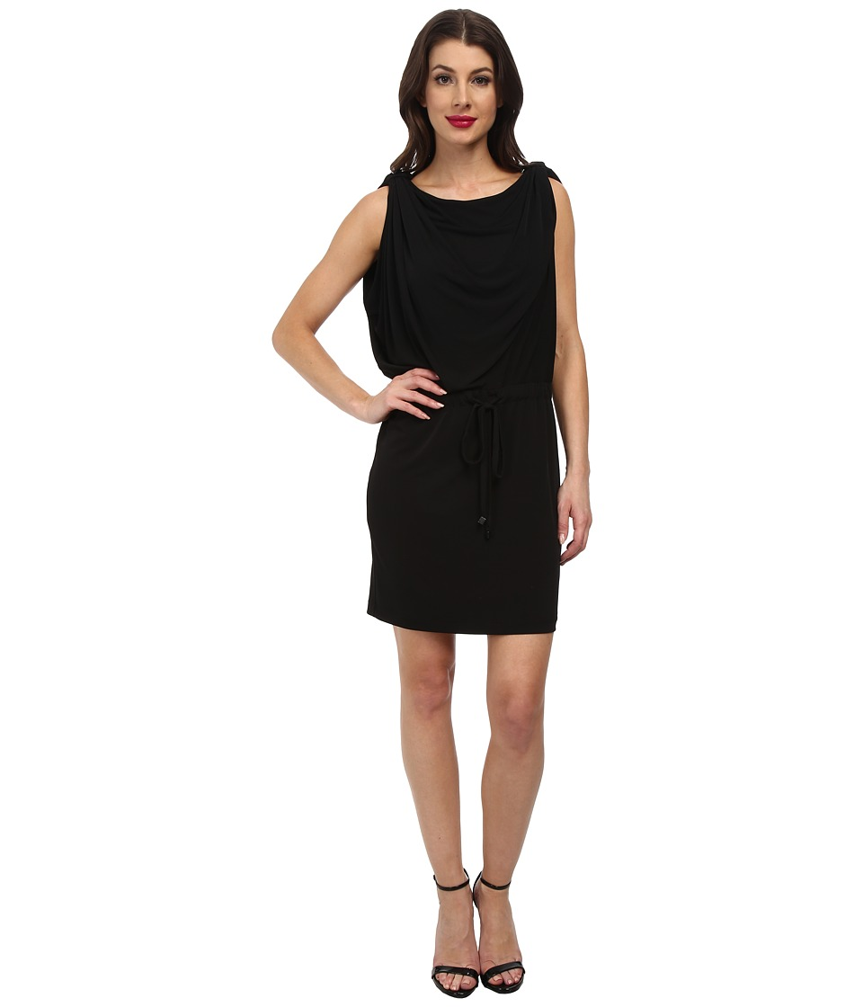 Jessica Simpson - Jersey Tie Dress JS3U4687 (Black) Women's Dress
