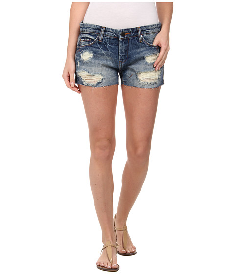 Blank NYC - Denim Ripped Short in Keepin' It Real (Keepin' It Real) Women's Shorts