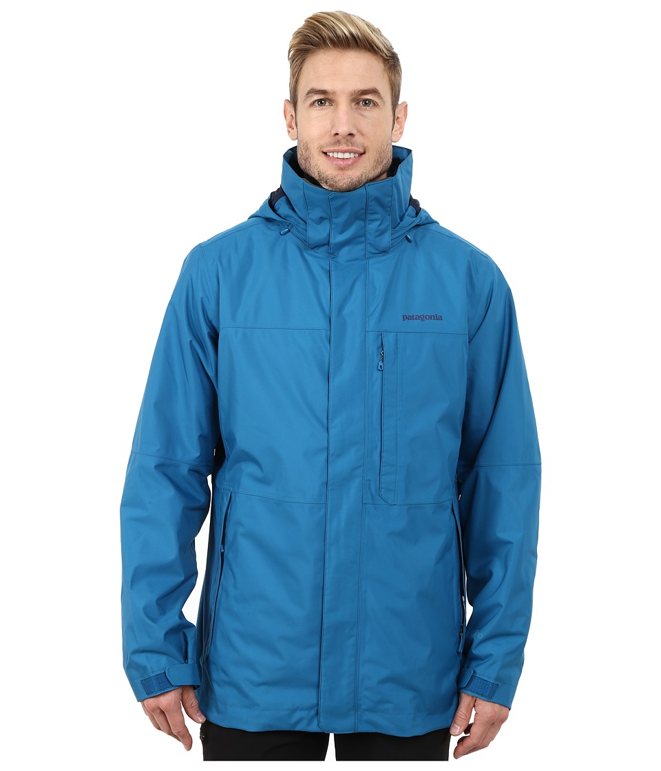 Patagonia - 3-in-1 Snowshot Jacket (Underwater Blue) Men's Jacket