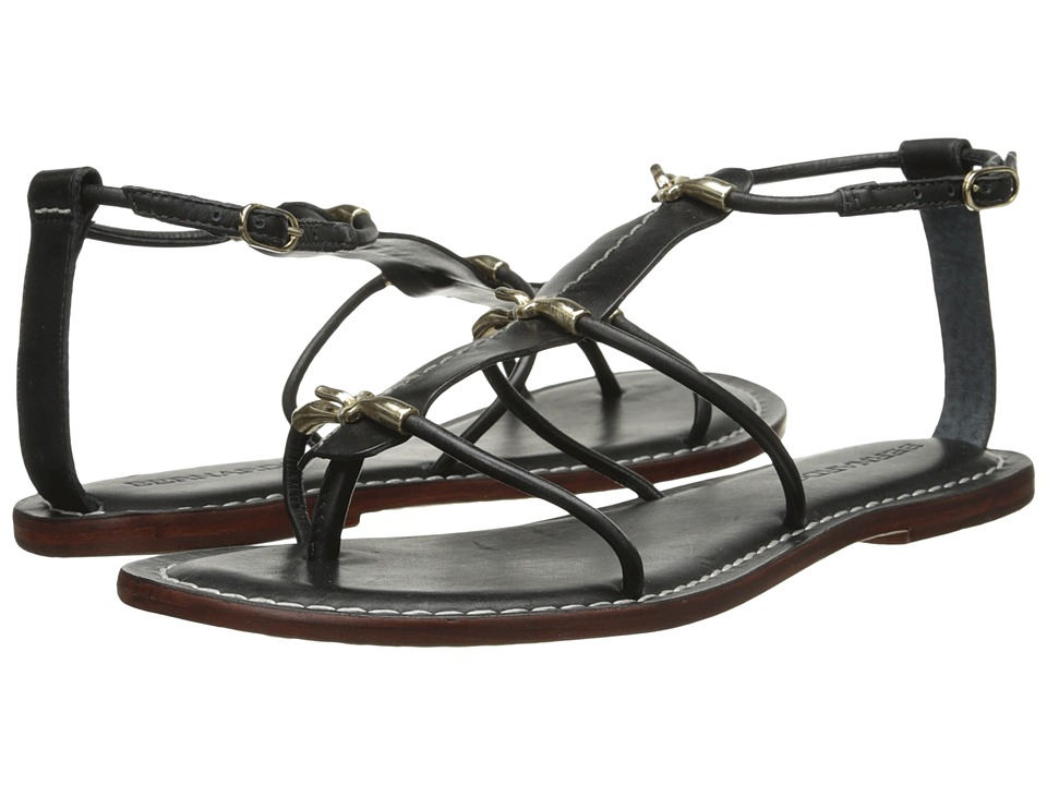 Bernardo - Melanie (Black Calf/Gold) Women's Sandals