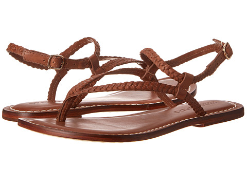 Bernardo - Merit Woven (Luggage Calf) Women's Sandals