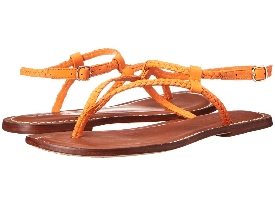 Bernardo - Merit Woven (Orange Calf) Women's Sandals