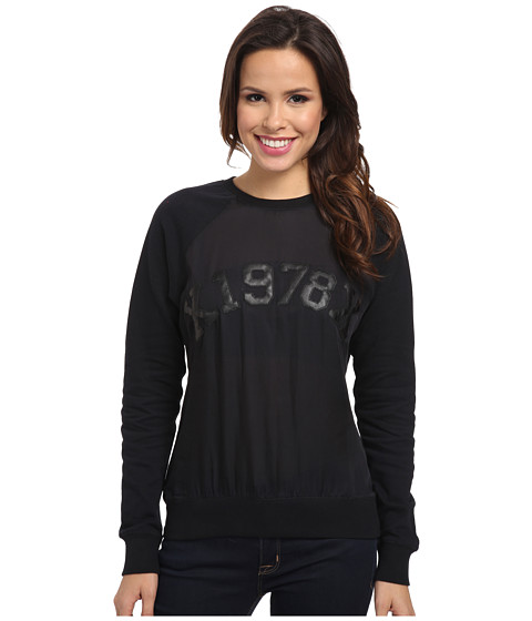 Diesel - F-Melodi Sweatshirt (Black) Women's Sweatshirt